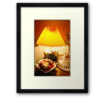 From my armchair... Framed Print