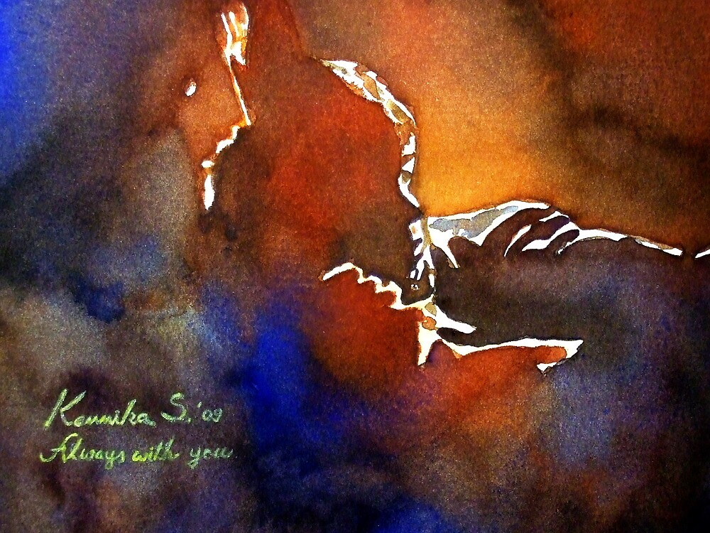 08-06-2009 Always with You (Watercolor) by BuaS