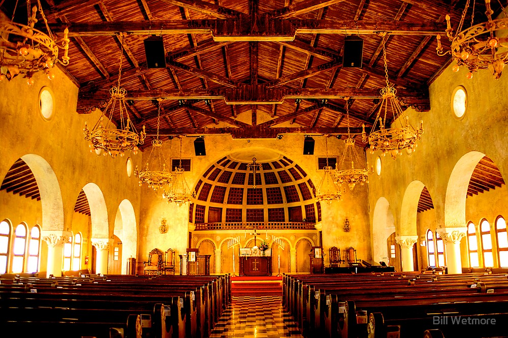 Old Florida Church by Bill Wetmore