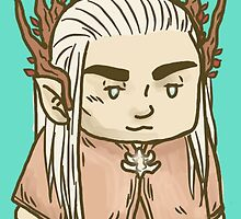 Tiny Elven King by inogart