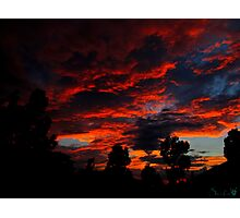 As The Sun Rises To Burn Another Day Photographic Print