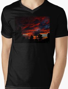 As The Sun Rises To Burn Another Day Mens V-Neck T-Shirt