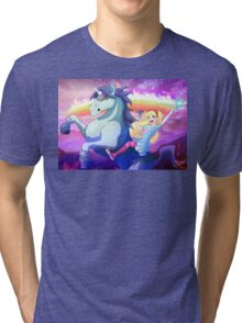 Star vs. the Forces of Evil Tri-blend T-Shirt