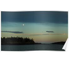 Island Moon - Isle Royale N. P. Poster