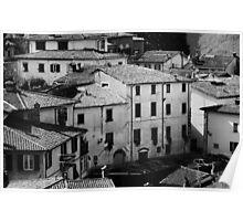 Italian Architecture Poster
