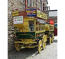 One Horse Power Bus Photographic Print