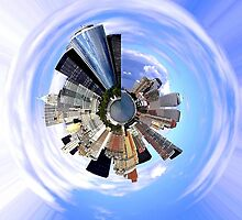 Central Park - Planet. by Katherine Johns