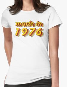 Made in 1976 (Yellow&Red) T-Shirt