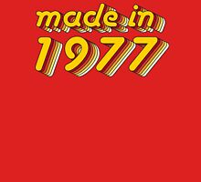 Made in 1977 (Yellow&Red) T-Shirt