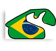 Brasilian Grand Prix Canvas Print