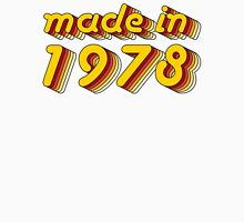 Made in 1978 (Yellow&Red) Unisex T-Shirt