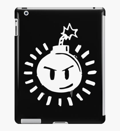 Funny Bomb - Black T iPad Case/Skin