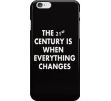 Torchwood - Everything Changes iPhone Case/Skin