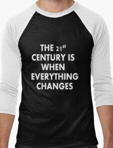 Torchwood - Everything Changes Men's Baseball ¾ T-Shirt