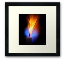 Candle Force Framed Print