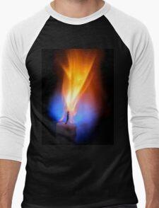 Candle Force Men's Baseball ¾ T-Shirt
