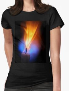Candle Force Womens Fitted T-Shirt