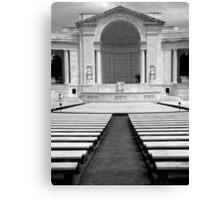 Memorial Amphitheater ~ Part Two Canvas Print