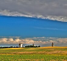 Elevators in the prairies by zumi