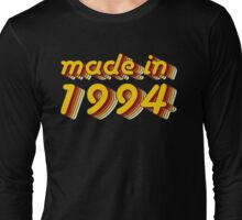 Made in 1994 (Yellow&Red) Long Sleeve T-Shirt