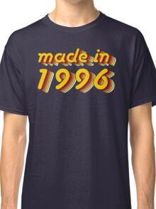 Made in 1996 (Yellow&Red) Classic T-Shirt