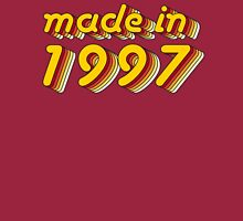 Made in 1997 (Yellow&Red) Long Sleeve T-Shirt