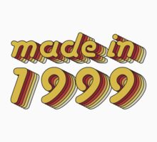 Made in 1999 (Yellow&Red) Baby Tee