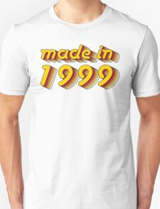 Made in 1999 (Yellow&Red) T-Shirt