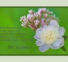 """He is Risen"" by Delores Knowles"