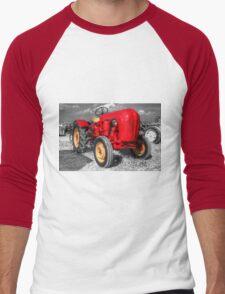 Porsche Tractor  Men's Baseball ¾ T-Shirt