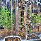 old town waterfall by gazevans