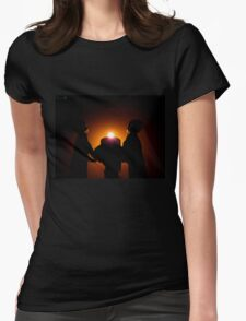 Candlelit Ceremony Womens Fitted T-Shirt