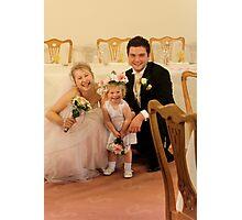 Wedding fun Photographic Print