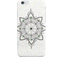 Watercolor Dots Mandala iPhone Case/Skin