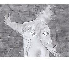 Cristiano Ronaldo Photographic Print
