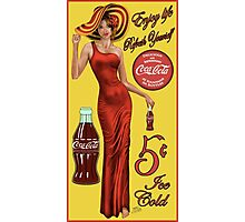 Coca Cola Red Photographic Print