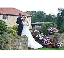 Wedding garden Photographic Print