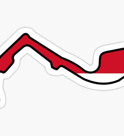 Monaco Grand Prix Sticker