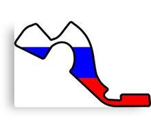 Russian Grand Prix Canvas Print