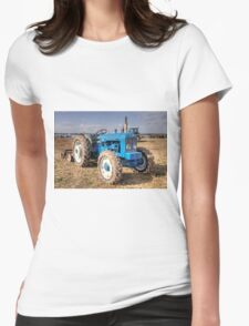 Roadless Tractor  Womens Fitted T-Shirt
