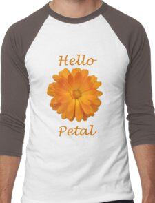 Hello Petal Men's Baseball ¾ T-Shirt