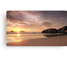Evening at Whisky Bay Canvas Print