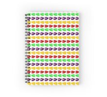 Mario Hats Spiral Notebook