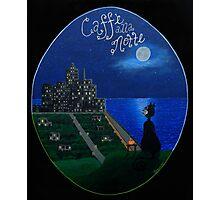 Caffe alla Notte Photographic Print