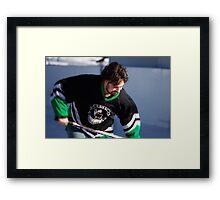 Pond Hockey II Framed Print