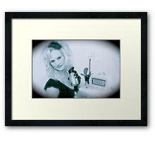 Victoria Film Noir  Framed Print