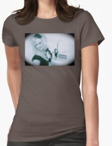 Victoria Film Noir  Womens Fitted T-Shirt