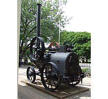 Steam engine. Photographic Print