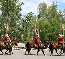 Royal Canadian Mounted Police by Alyce Taylor
