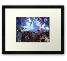 Rave On - Wadi Rum, Jordan Framed Print